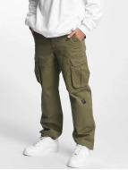 Pelle Pelle Pantalon cargo Basic Re Up Twill olive