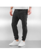 Pleated Jogger Pants Bla...