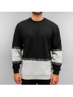 Pelle Pelle Pullover Tape schwarz