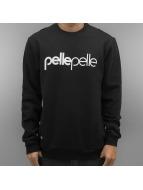 Pelle Pelle Pullover Back 2 Basics schwarz
