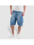 Pelle Pelle Short Denim bleu