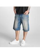 Pelle Pelle Shorts Buster Baggy Denim bleu