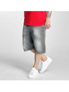 Pelle Pelle Shorts Buster Baggy Denim gris
