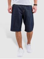 Pelle Pelle Shorts Buster Baggy Denim indaco