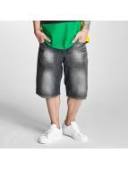 Pelle Pelle shorts Buster Baggy Denim zwart