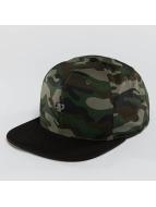 Pelle Pelle Snapback Cap Icon Plate camouflage