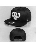 Pelle Pelle snapback cap Icon zwart