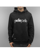 Pelle Pelle Sweat à capuche Back 2 Basics noir