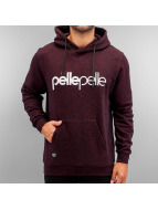 Pelle Pelle Sweat à capuche Back 2 The Basics rouge