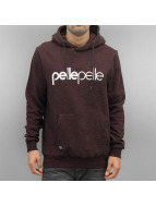 Pelle Pelle Sweat à capuche Back 2 Basics rouge