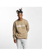 Pelle Pelle Swetry Back 2 Basics Crew Neck brazowy