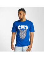 Pelle Pelle T-Shirt Stick Up Icon bleu