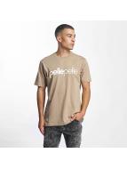 Pelle Pelle T-Shirt Back 2 Basics brun