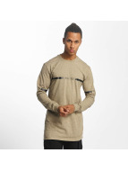 Pelle Pelle T-Shirt manches longues Crossover beige
