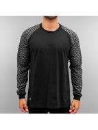 Pelle Pelle T-Shirt manches longues Sayagata RMX noir