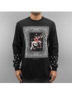 Pelle Pelle T-Shirt manches longues Thug Love noir