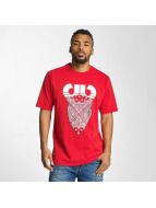 Pelle Pelle t-shirt Stick Up Icon rood