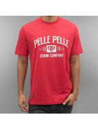 Pelle Pelle T-skjorter Classic Arch red