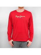 Pepe Jeans Pitkähihaiset paidat Eggo punainen