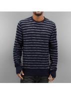 Petrol Industries Пуловер Stripes синий
