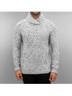 Knit Fancy Collar Sweate...