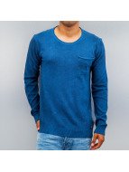 Petrol Industries Pullover Pocket blau