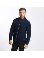 Petrol Industries Strickjacke Industries Knitwear indigo