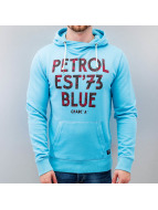 Petrol Industries Sweat à capuche Blue bleu