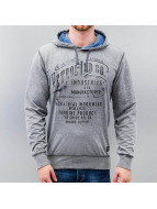 Petrol Industries Sweat à capuche Workwear gris
