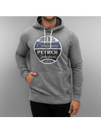Petrol Industries Sweat à capuche Brisel gris
