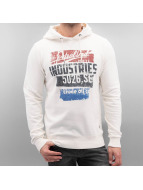 Petrol Industries Sweat capuche Baltimore blanc