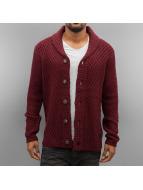 Petrol Industries Swetry rozpinane Knit czerwony