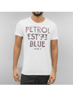 Petrol Industries T-paidat Grade 'A' valkoinen