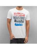 Petrol Industries T-paidat Chalk valkoinen