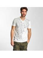 Petrol Industries T-paidat Pocket valkoinen