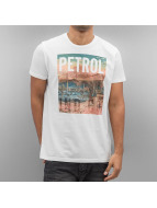 Petrol Industries T-paidat Bright valkoinen
