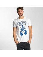 Petrol Industries T-Shirt Lobster blanc