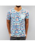 Petrol Industries T-Shirt Geographic blau