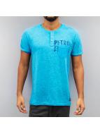 Petrol Industries T-Shirt Tennessee blau