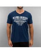 Petrol Industries t-shirt Mirror blauw