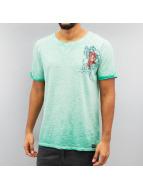 Petrol Industries T-Shirt Florida grün