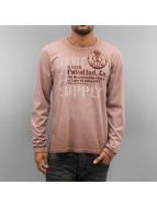 Petrol Industries T-Shirt manches longues Supply brun