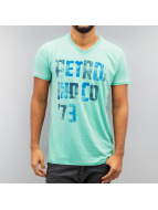 Petrol Industries T-Shirt '73 turquoise