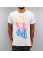 Petrol Industries T-Shirt Bike weiß