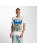 Petrol Industries T-Shirty Summer bialy