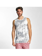 Petrol Industries Tank Tops Palmtree белый