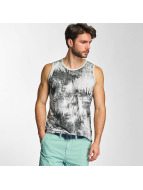 Petrol Industries Tank Tops Palmtree серый