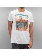 Petrol Industries Tričká Bright biela
