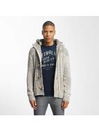 Petrol Industries vest Knitwear grijs