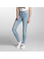 Pieces Облегающие джинсы PCFive Betty синий